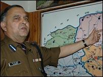 Senior police officer Brij Bhushan Bakshi