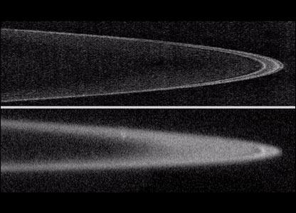 Jupiter's rings   Image: Nasa/JHUAPL/SWRI