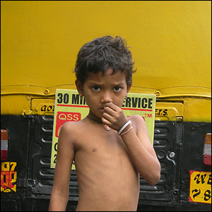Child in Calcutta