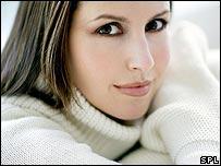 Woman in a jumper