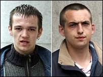 Garry (left) and Alistair Stewart [Pics: Newsline]
