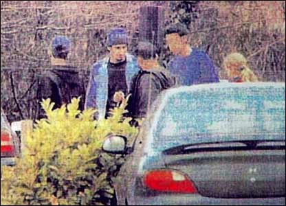 Another shot of the group. All pictures taken as part of the Operation Crevice bomb plot surveillance