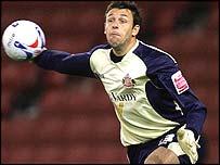 Sunderland goalkeeper Darren Ward