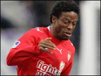 Monaco and Sierra Leone's Mohamed Kallon