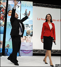 Francois Hollande and Segolene Royal