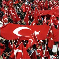 Secular rally in Istanbul