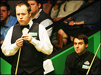 John Higgins and Ronnie O'Sullivan