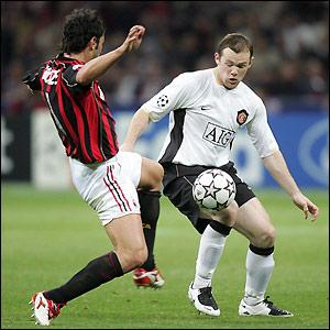 Rooney looks to beat Kakha Kaladze