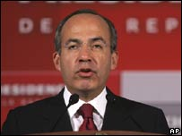 Presidente Felipe Calderón