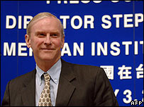Stephen Young, Director of the American Institute in Taiwan