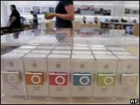 iPod shuffle, AP