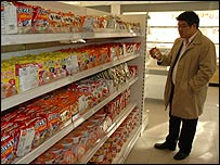 Yooni Suh in his supermarket