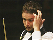 Matthew Stevens will now have to qualify for the Crucible next year