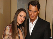 Tamara Mellon and her ex-husband Matthew Mellon