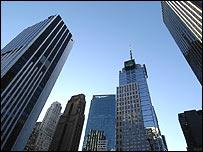 Edificios de Manhattan, Nueva York
