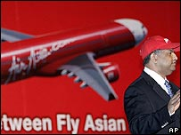 Tony Fernandes, chief executive of Air Asia