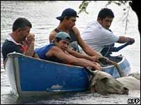 Inundación en Trinidad, Bolivia