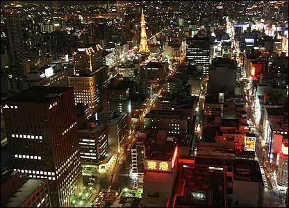 Sapporo in Japan