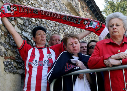 Fan Pictures Football Southampton Football Club Fans