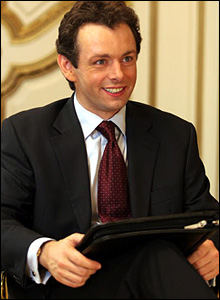 Michael Sheen in The Queen/ Granada