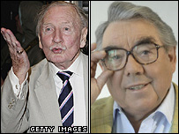 Leslie Phillips and Ronnie Corbett