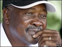Mali President Amadou Toumani Toure