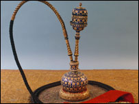 An opium pipe (picture: the National Trust)