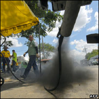 Vehicle exhaust. Image: AFP/Getty