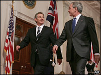 Bush and Blair