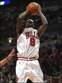 Chicago Bulls' Luol Deng
