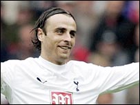 Tottenham striker Dimitar Berbatov