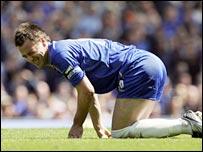 Chelsea skipper John Terry