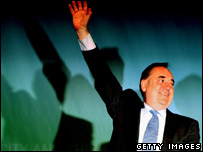 SNP leader Alex Salmond won the Gordon seat