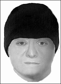 E-fit of one of the robbers