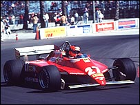 The great Ferrari driver Gilles Villeneuve died 20 years ago
