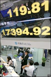 Stock market. Image: AP