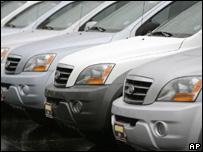 Kia Sorento vehicles