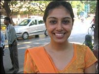 Mumbai resident Tina Khiara
