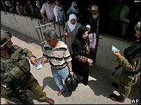 Hawara checkpoint outside Nablus