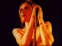 Iggy Pop's Raw Power album cover  (c) Mick Rock www.mickrock.com