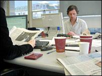 The News Quiz writer Simon Littlefield