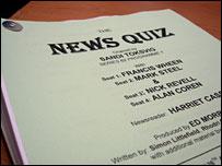 The News Quiz script