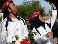 Jafar and his wife Naseem