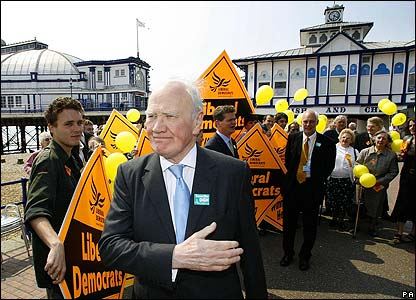 Sir Menzies Campbell in Eastbourne