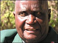 Former President Kenneth Kaunda
