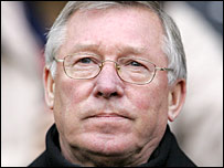 Man Utd boss Sir Alex Ferguson
