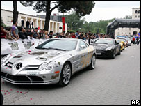 Gumball Rally cars