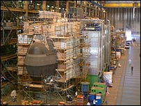 Astute submarine production