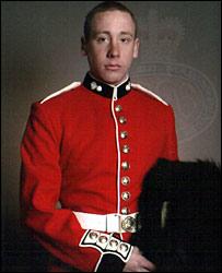 Guardsman Simon Davison