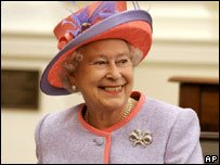 The Queen in the US